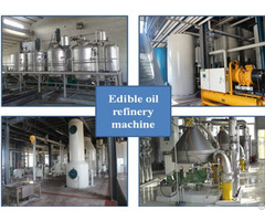 Factory Price Palm Kernel Oil Refining Machine