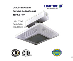 Lightide Led Gas Station Light 140w Dlc 4 0 Approval 5 Year Warranty