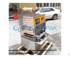 Multepak High Quality Vertical Map Vacuum Tray Sealer For Raw Meat Packaging