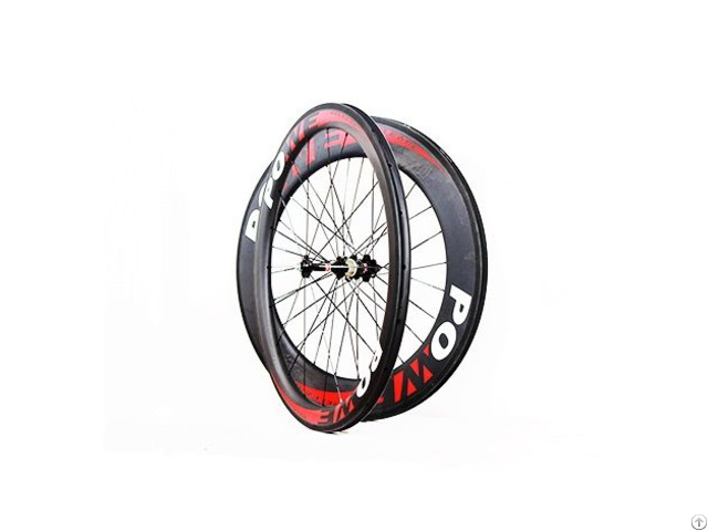60mm Depth And 25mm Width Road Bike Wheelset
