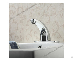 Bathroom Fauce Brass Basin Hot And Cold Sensor Tap