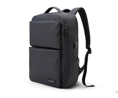 Laptop Backpack Business Bags With Usb Charging Port Anti Theft Water Resistant