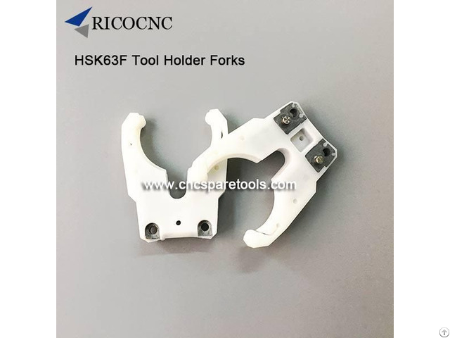 Hsk63f Cnc Tool Finger Forks For Hsk 63f Toolholder Clamping
