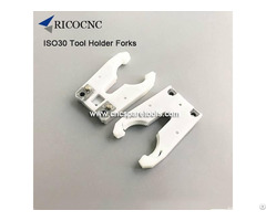 Iso30 Plastic Tool Finger Forks For Hsd Auto Toolchanger Cnc Routers