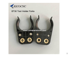 Bt30 Plastic Tool Holder Fork Finger Clips For Cnc Machines