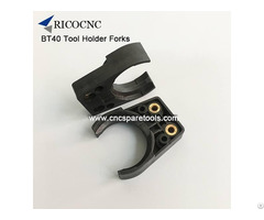 Bt40 Plastic Tool Fork Toolchange Gripper Fingers For Cnc