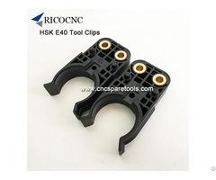 Poju Hsk 40e Plastic Tool Holder Gripper Clip Forks