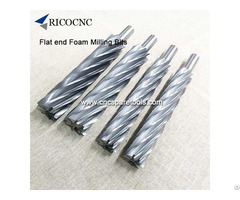 Long Foam Cutting End Mill Router Cutter Bits For Eps Milling