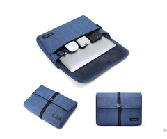 Slim Laptop Sleeve Portable Briefcase Travel Electronics Case