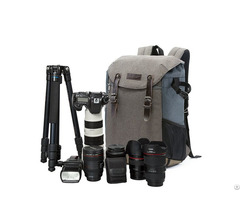 Camera Backpack 15 6 Laptop Compartment And Waterproof Rain Cover