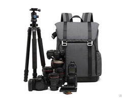 """Dslr Camera Backpack With Padded Custom Dividers 15 6"""" Laptop Compartment And Accessory Storage"""