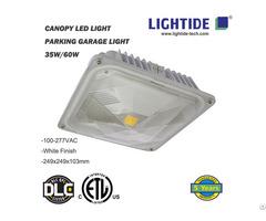 Lightide Etl Cetl Dlc Led Canopy And Gas Satation Light 35w