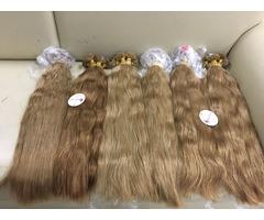 Vietnam Hair Flat Tip Bodywave Brown Color