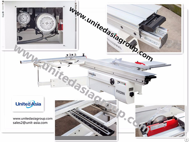 Heavy Duty Sliding Table Saw Fs3200s