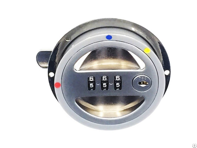 Digits Round Type Combination Lock