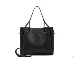 Top Handle Pu Leather Satchel Women S Shoulder Strap Bucket Bag Fashion Purse