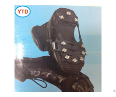 Anti Slip Shoes Spike Ice Grippers For Winter Worker