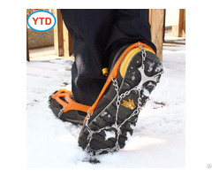 Ytd 014 12 Claw High Quality Anti Slip Ice Crampons For Snow And Rock