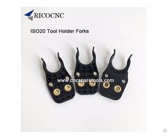 Black Iso20 Cnc Tool Clips