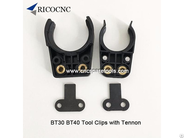 Bt30 Bt40 Tool Changer Fork Clips With Iron Tennon Plates
