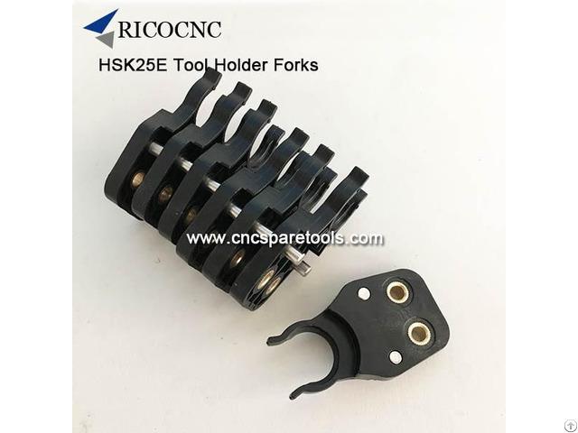 Hsk25e Tool Holder Forks Plastic Hsk E25 Toolholder Clips For Cnc Routers