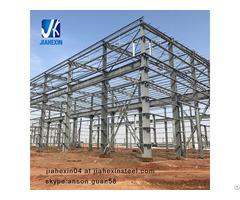 Hot Dip Galvanized Pre Engineering Prefab Steel Structure