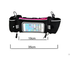 Jogging Waist Belt Bag With Bottles For Cell Phone