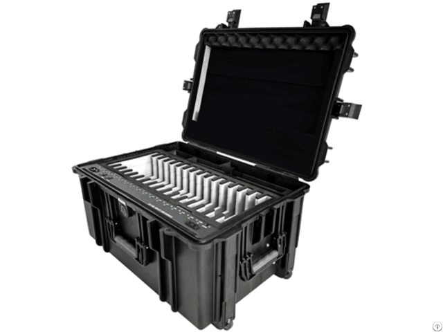 Tablet Storage Cabinet Ipad Charge And Sync Staton Charging Cart