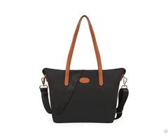 Women S Nylon Tote Waterproof Crossbody Bags With Black Adjustable Strap Beach Shoulder Handbag
