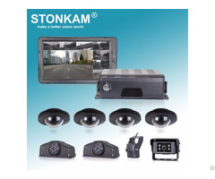 8ch 1080p Dvr System With 10 1 Inches Hd Quad View Monitor