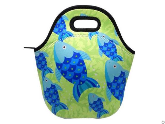 Eco Friendly Neoprene Kid Lunch Bag