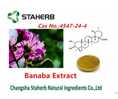Banaba Leaf P E Extract Of Corosolic Acid