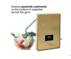 New Style Led Touch Panel Ozone Generator For Vegetable And Water