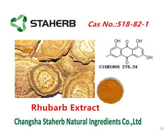 Rhubarb Extract For Emodin Cas No 518 82 1