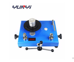 Jy Series Piston Dead Weight Tester