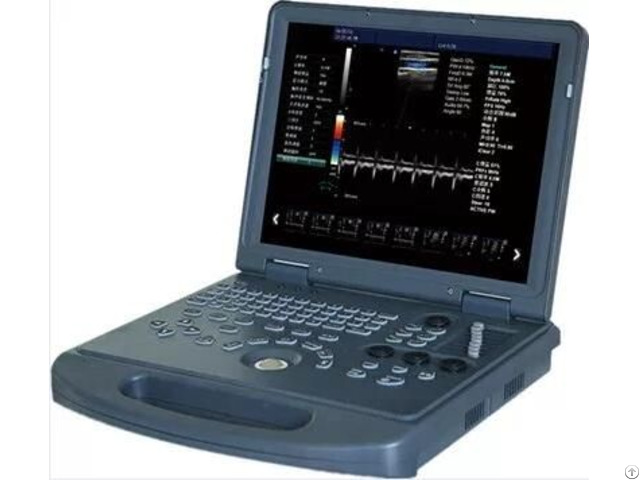 4d Laptop Color Doppler Ultrasound System Zero C60
