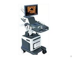 4d Trolly Color Doppler Ultrasound System Zero C80plus V2 1