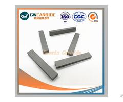 Yg8 Yg9 Yg10 Tungsten Carbide Strip Of Industrial