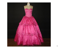 Quinceanera Dress Beaded Ball Gown For Formal Evening