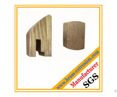 Solid Copper Alloy Brass Lock Cylinder Extrusion Profiles
