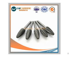 Hot Sale Tungsten Carbide Rotary Burrs For Cutting Tools