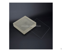 Series Glass And Fused Silica Wafers