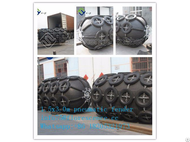 High Pressure D2 0 L3 5m Boat Ship Pneumatic Fender To Panama
