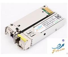 New Sfp 155m Bidi 80km Optical Transceiver Cisco Huawei