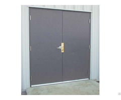Ul Listed 180 Mins Fire Rated Steel Door