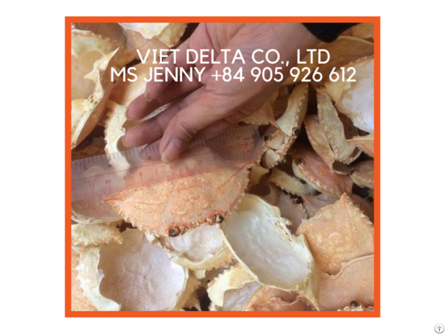 Best Quality And Price Dried Crab Shell Whole Powder From Vietnam Jenny 84 905 926 612