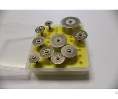 Diamond Rotary Cutting Disc Mini Discs