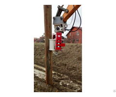Used Vibro Hammer Ovr 70sg To Work On A Crane