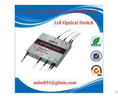 Glsun 1x8 Fiber Optic Switch