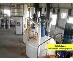 Groundnut Oil Refinery Process Machinery
